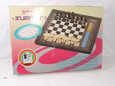 Systema Jupiter 72 Level Chess Computer Boxed With Instructions Model ST-932 • 9.50£