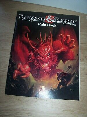 Dungeons & Dragons Game Rule Book  - TSR • 1.99£