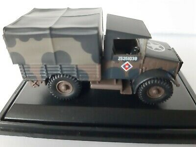 Oxford 1/76 British Army Mickey Mouse Bedford MWD - MWD001 • 1.70£