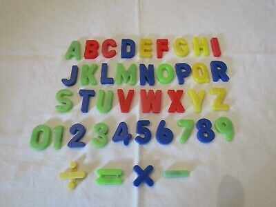 40 Magnetic Letters & Numbers. • 1.50£