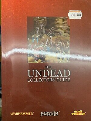 Warhammer The Undead Collector's Guide Book • 9.99£