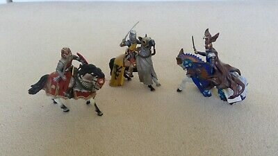 Papo Knights And Horses Bundle. 3 Sets. • 7.99£