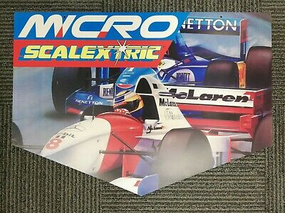 Scalextric Advertising Boards 5 In All, Rare And Different • 45£