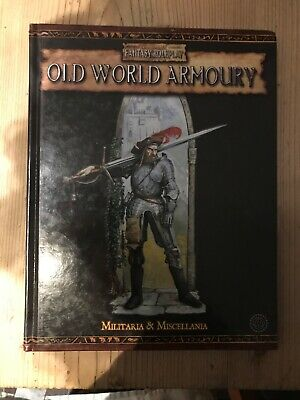 Warhammer Fantasy Roleplay Old World Armoury 2nd Edition • 28.99£