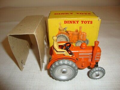 DINKY 301 FIELD MARSHALL TRACTOR - EXCELLENT In Original BOX • 125£