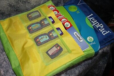 Original LeapFrog LeapPad Learning System With Books, Cartridges And Carry Bag. • 20£