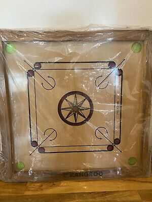 Carrom Board Medium (26'' X 26'') With Coins And Powder • 70£