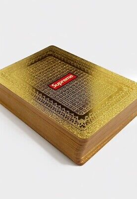 Gold Plated Playing Cards Supreme • 14.99£