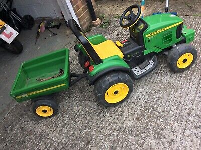 Kids Ride Electric On Tractor & Trailer  • 57£