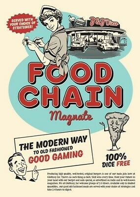 Food Chain Magnate Board Game • 70.98£