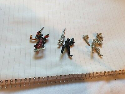 Warhammer 40k Vindicare, Culexus And Evesor Assassins Lot48 • 12.05£