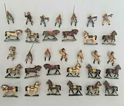 Citadel Metal Medieval Miniatures - Collection Of Horses And Riders • 9.99£