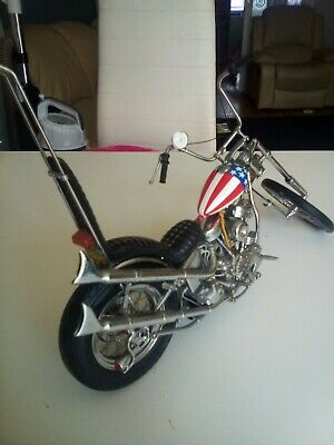Easy Rider Scale Model Chopper Motorcycle • 122£