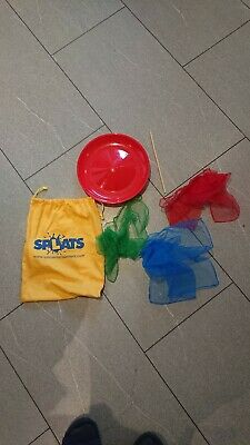 Splats Circus Tricks Plate Spinning, Juggling Scarves • 0.99£