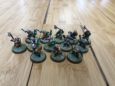 Lord Of The Rings Warhammer Dwarf Warriors X 13 • 3.50£