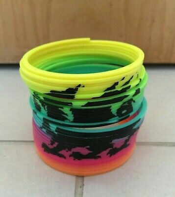 Plastic Rainbow Stretchy Spring Slinky Toy With Welsh Dragon Symbol • 5£