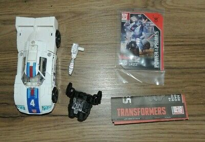 Transformers Power Of The Primes Deluxe Jazz- Complete • 5£