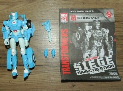 Transformers WFC Siege Deluxe Chromia - Complete • 5£