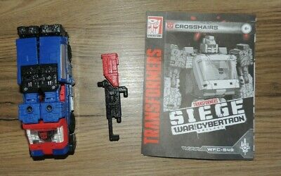 Transformers WFC Siege Deluxe Crosshairs - Complete • 5£