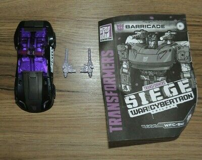 Transformers WFC Siege Deluxe Barricade - Complete • 5.50£