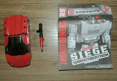 Transformers WFC Siege Deluxe Sideswipe - Complete • 5£