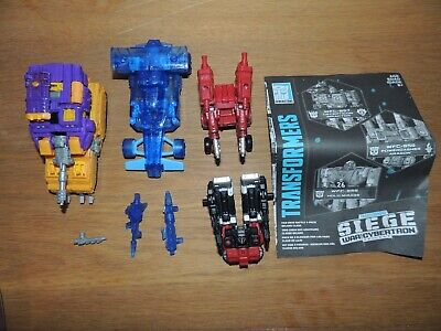 Transformers WFC Siege Deluxe 3 Pack - Complete • 22£