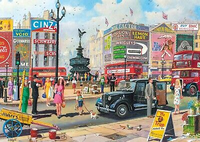 Gibsons - 250 XL BIG PIECE JIGSAW PUZZLE - Piccadilly London • 11.99£