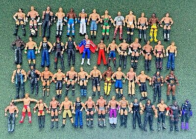 Various Mattel WWE/Wrestling Action Figures - Multi Listing - Free Postage (E) • 6.99£