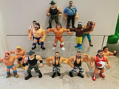 WWF WWE Hasbro Wrestling Figures Bundle Joblot All Actions Working And Tested  • 15£