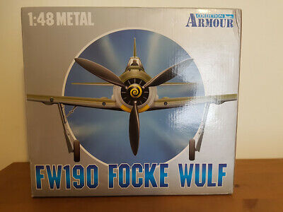 Armour Collection FW190 1/48 Scale Metal • 80£