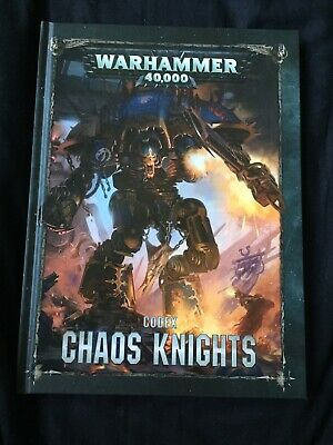 Warhammer 40k Chaos Knights Codex • 12£
