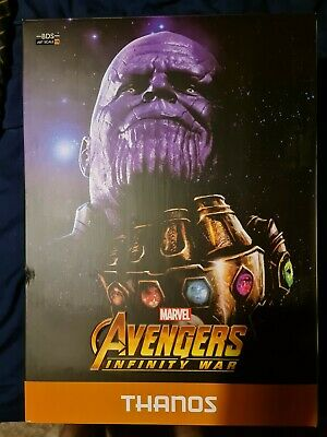 Iron Studios Marvel Avengers Infinity War Thanos 1/10 One Tenth Scale Statue • 5£