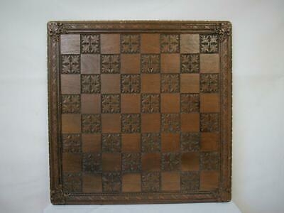 VINTAGE EXTRA LARGE CHESS  BOARD RESIN 23.5 Inches SQUARES OF 63 Mm • 124.99£