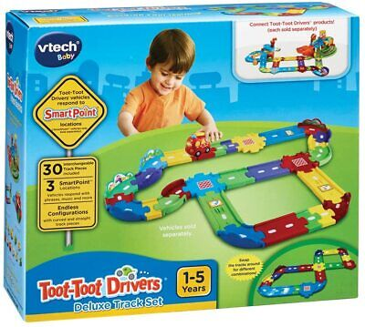 Toot-Toot Drivers Deluxe Car Track Set • 15.99£