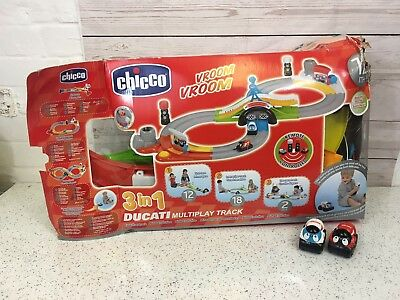 Chicco Ducati 3in1 Multiplay Race Track In Box • 15.99£