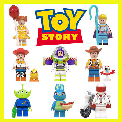 Toy Story Custom Minifigures Fits Minifigure Blocks Disney Bundle Uk Peppa Toy  • 2.99£