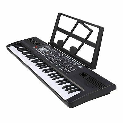 61 Keys Digital Music Electronic Keyboard Electric Piano With Microphone Set • 10.99£