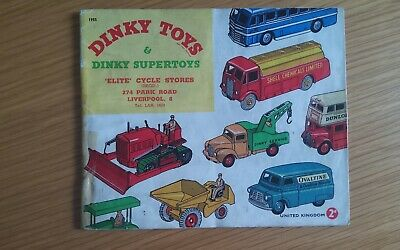 Dinky Toys & Dinky Supertoys Catalogue 1955 • 8.99£