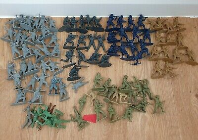 Lot Of Toy Soldiers Airfix Some Unknown German SAS British • 7.85£