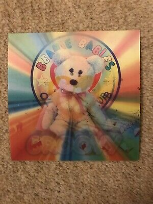Ty Hologram Card - Groovy (Bear) - Limited Edition Series 4 Ty Collector's Card • 2£