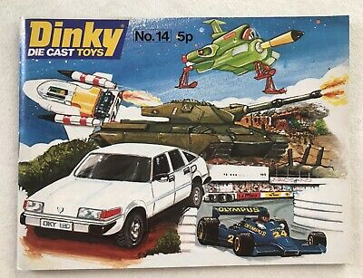 Dinky Toys Meccano Catalogue No14 Original 1978 • 4.99£