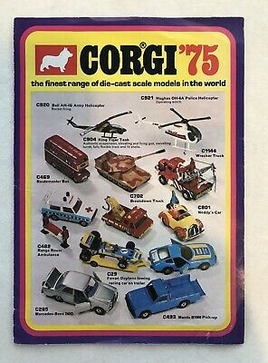 Corgi Toys Catalogue Original 1975 • 4.95£