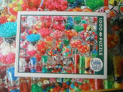 Cobble Hill   1000 Piece Jigsaw Puzzle  Candy Bar  Complete  • 7.99£