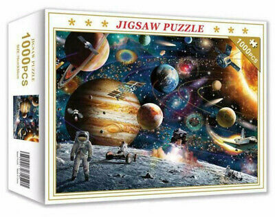 1000 Pieces Space Traveler Jigsaw Puzzle Educational Family Adult Kids DIY Toy • 9.99£