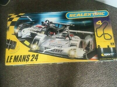 Scalextric Le Mans 24 Track • 18£