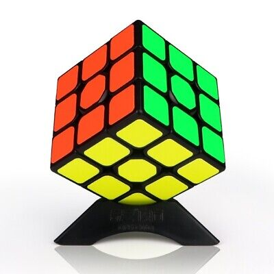 Qiyi 3x3 Smooth Fast Speed Cube Magic Puzzle Adult Toy Brain Game Fun Classic • 4.95£