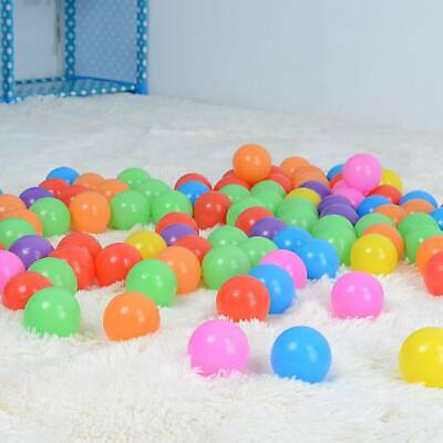 100x Multi-Color Kids Baby Child Soft Play Ocean Ball Toy For Ball Pit Swim Pool • 7.79£