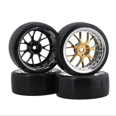 Rc Drift Tyres 1/10 Scale Smooth Slick Tyre • 11.99£