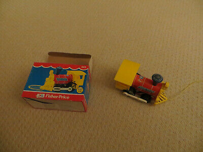 Vintage Fisher Price Toy 643 Toot Toot Engine Pull Along Toy Train • 10£