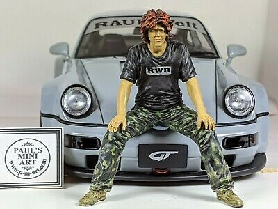 Hand Painted - 1:18 Akira Nakai San RWB - Suit Exoto Autoart (CAR NOT INCLUDED)  • 105£